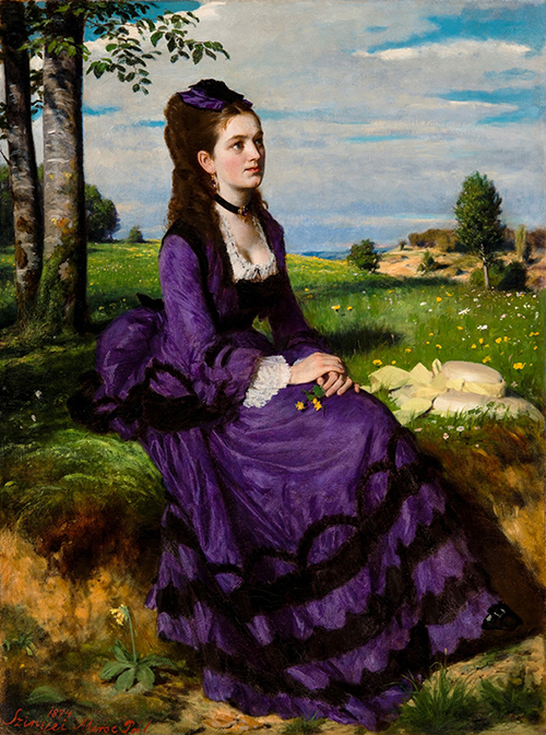 Lady in Violet